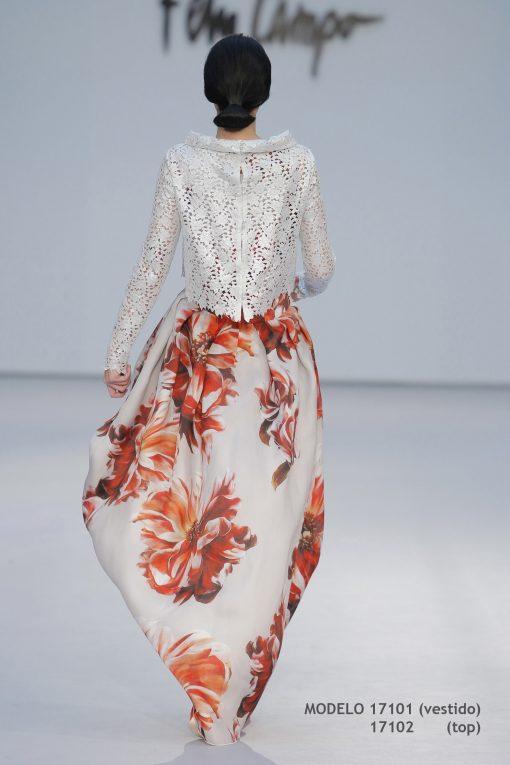 Vestido de novia 17101-17102-b