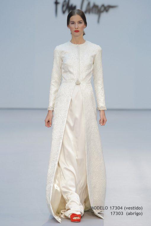 Vestido de novia 17304-17303-a