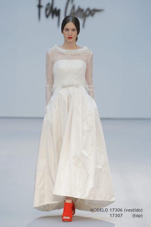 Vestido de novia 17306-17307-a