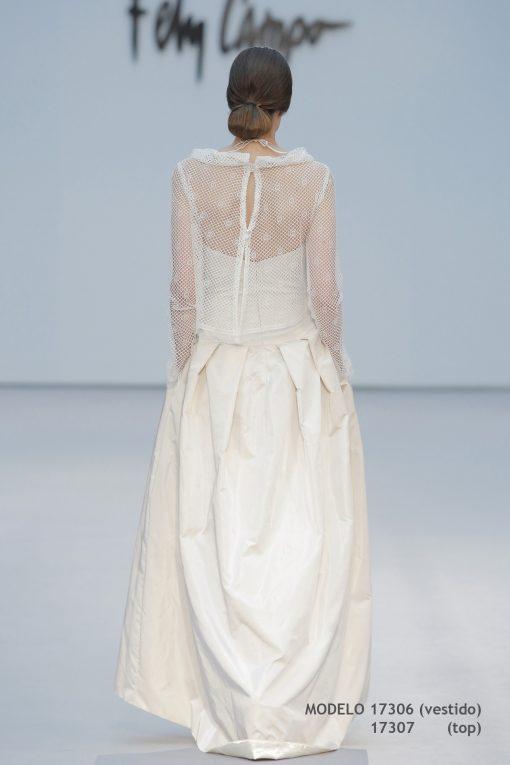 Vestido de novia 17306-17307-b