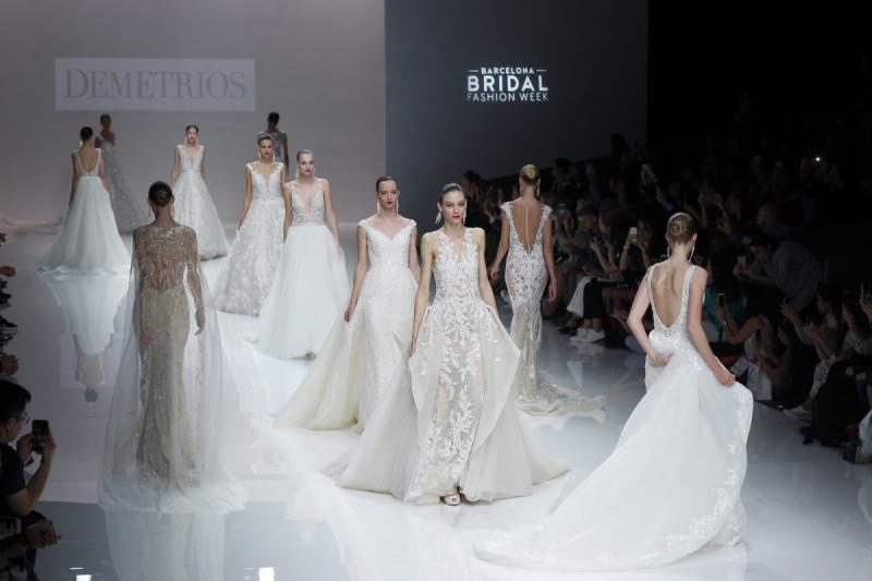 Barcelona Bridal Fashion Week 2018