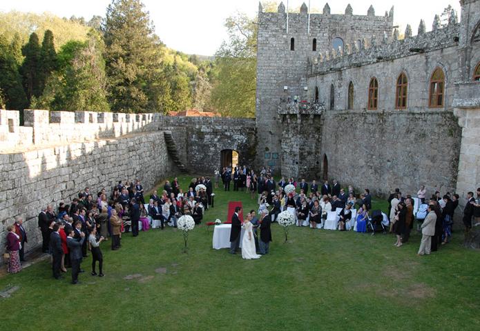 Boda en un castillo, un sueño fácil de realizar