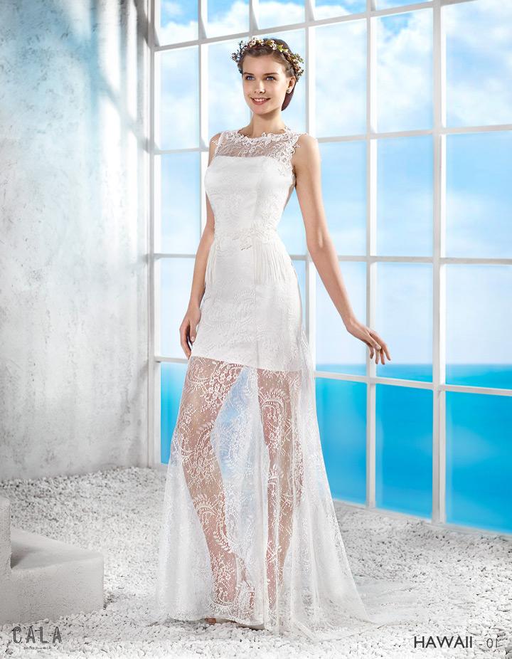 Vestidos de novia ibicencos cala