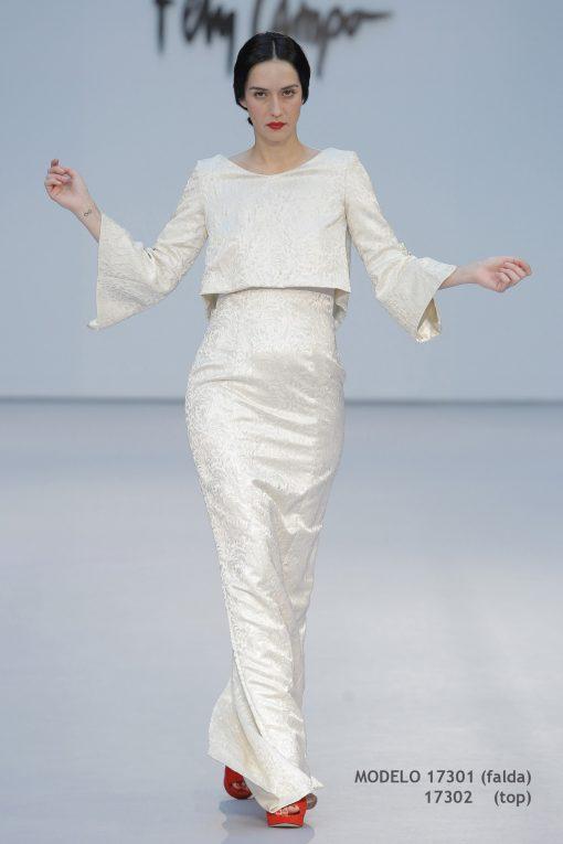 Vestido de novia 17301-17302-a