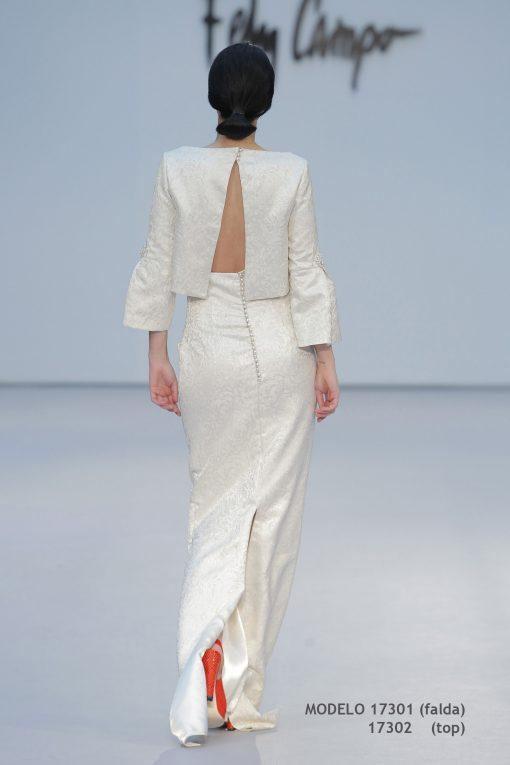 Vestido de novia 17301-17302-b