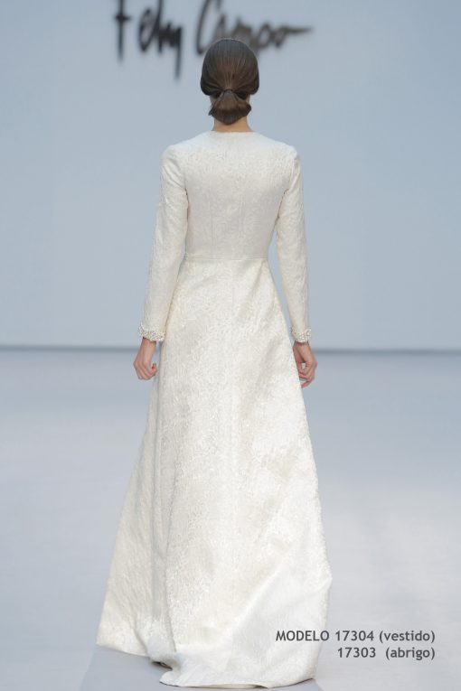 Vestido de novia 17304-17303-b