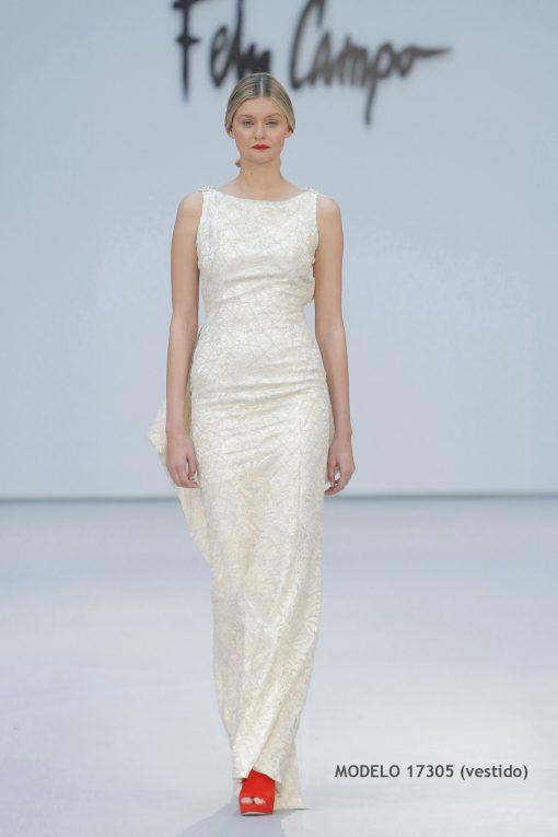 Vestido de novia 17305-a