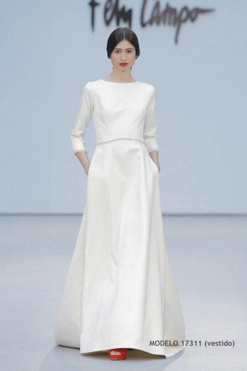 Vestido de novia 17311-a