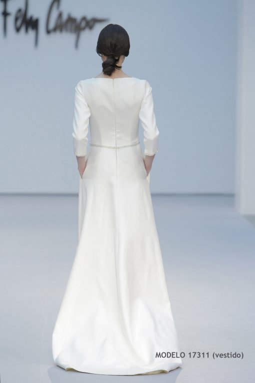 Vestido de novia 17311-b