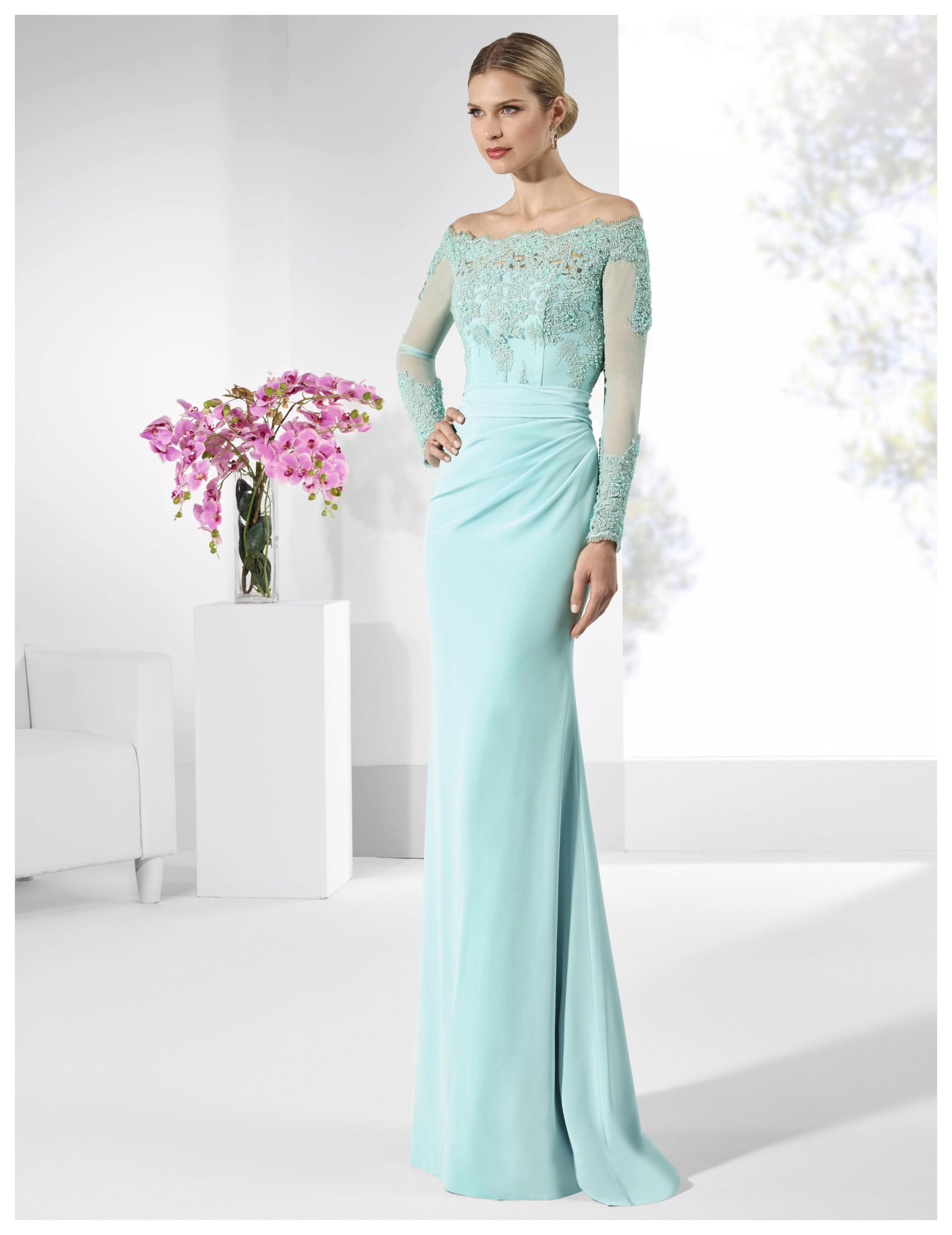 Vestido de fiesta ALMENA A - penhalta