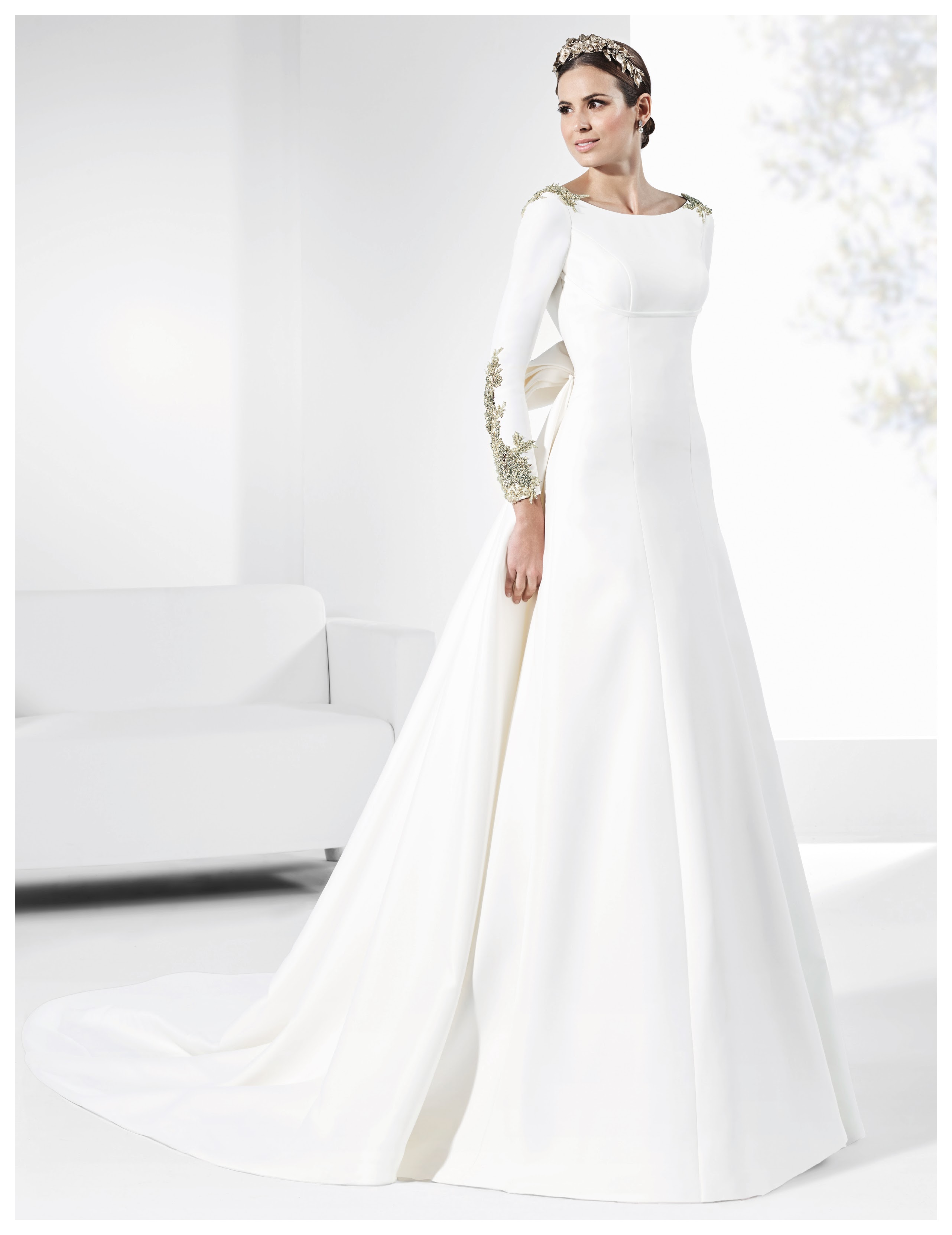 Vestido de novia VAGUADA A