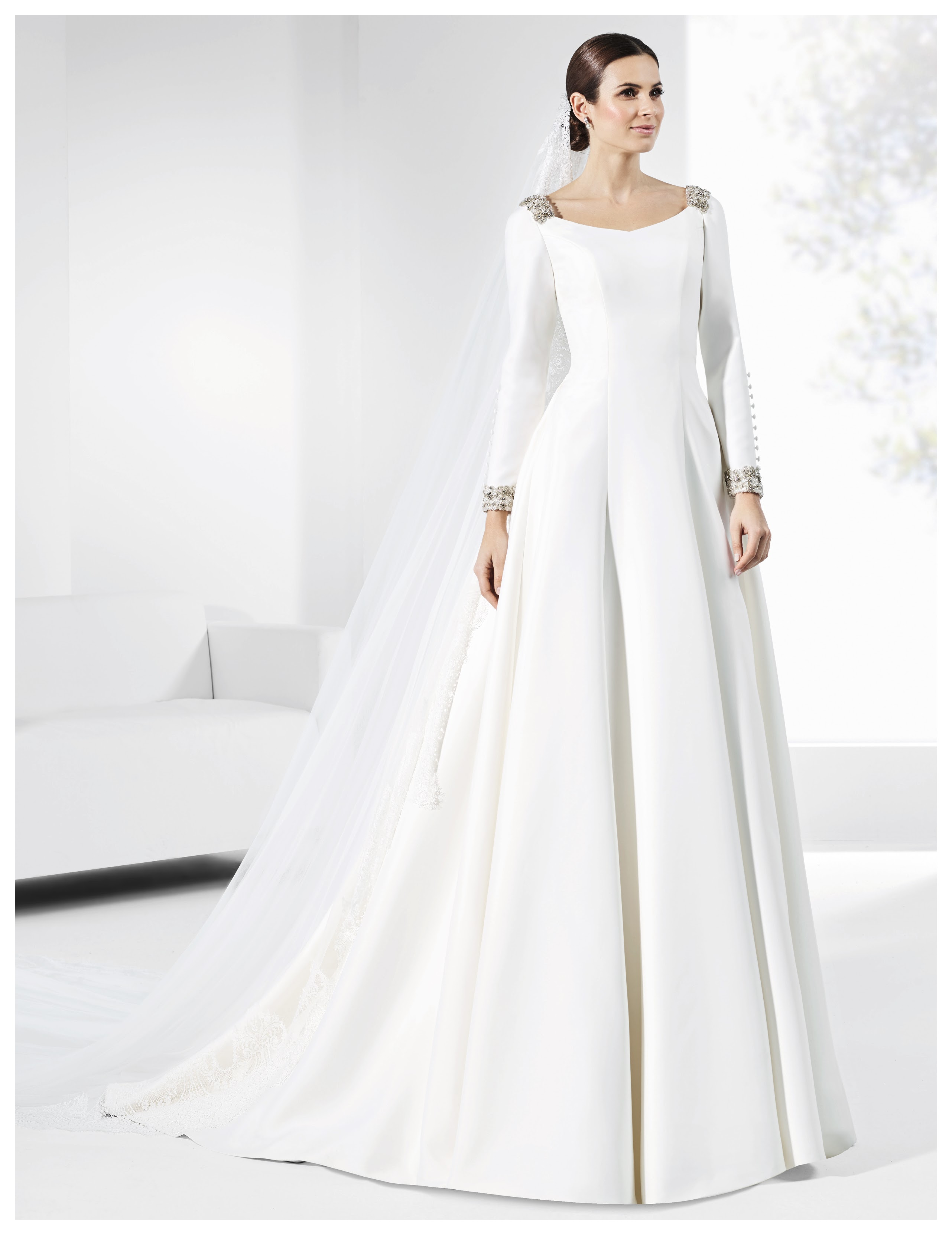 Vestido de novia VETUSTA A