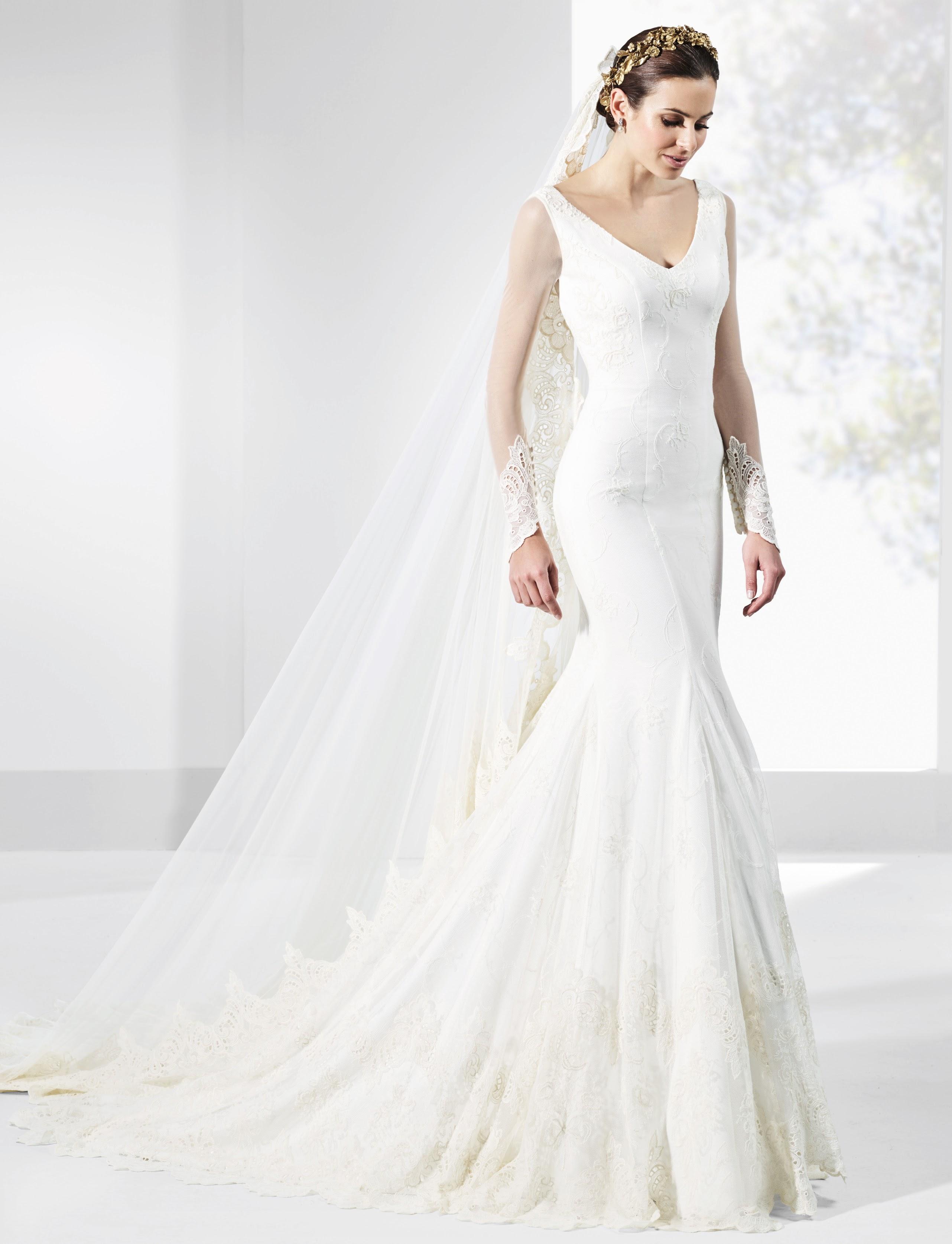 Vestido de novia VOLUTA A