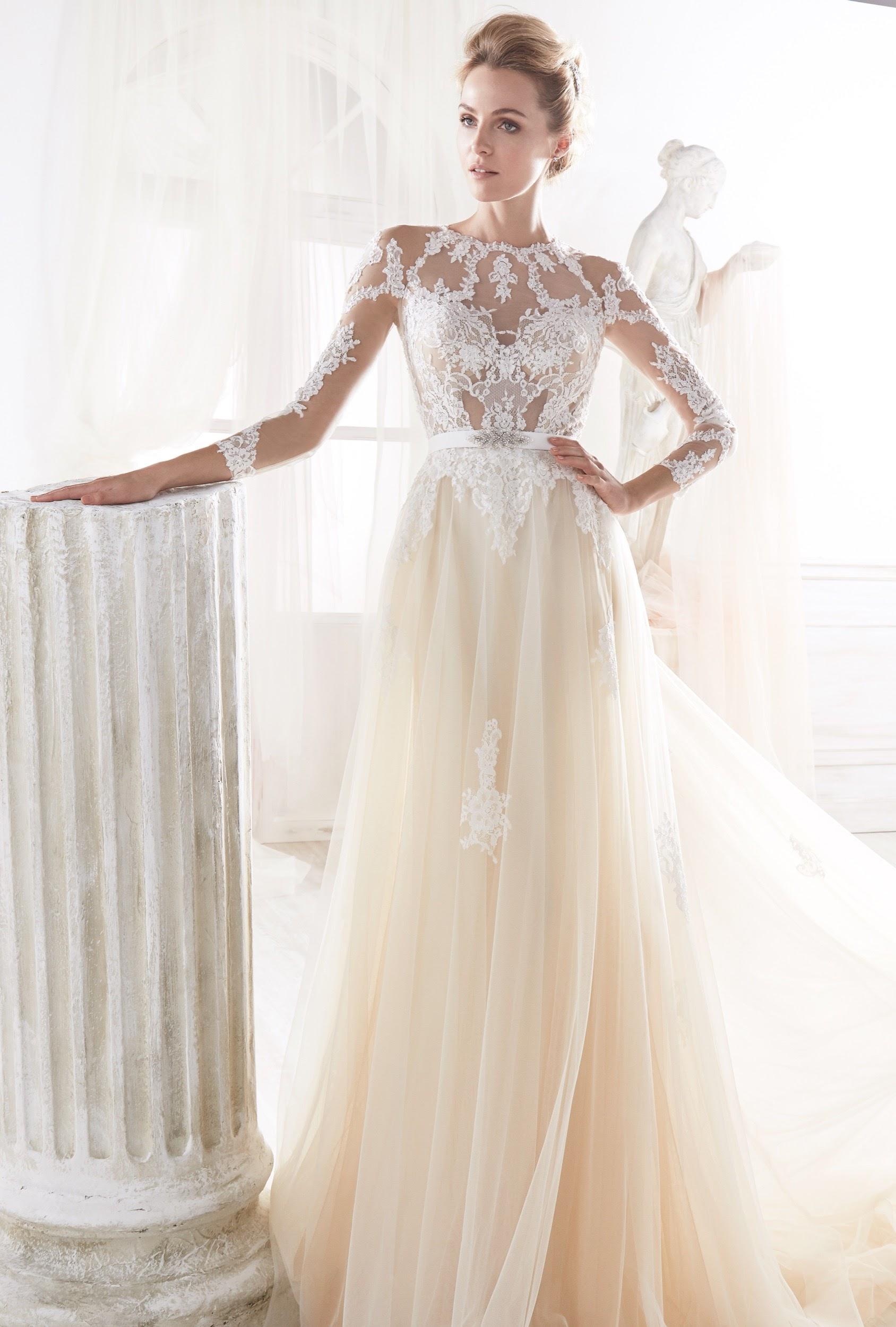 Vestido de novia nicole 2019