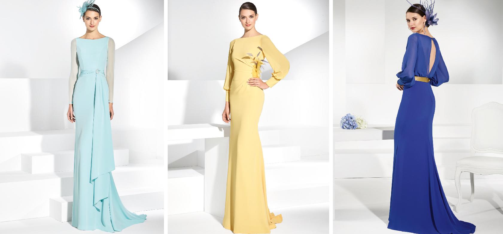 Imagenes de vestidos largos para fiesta de dia