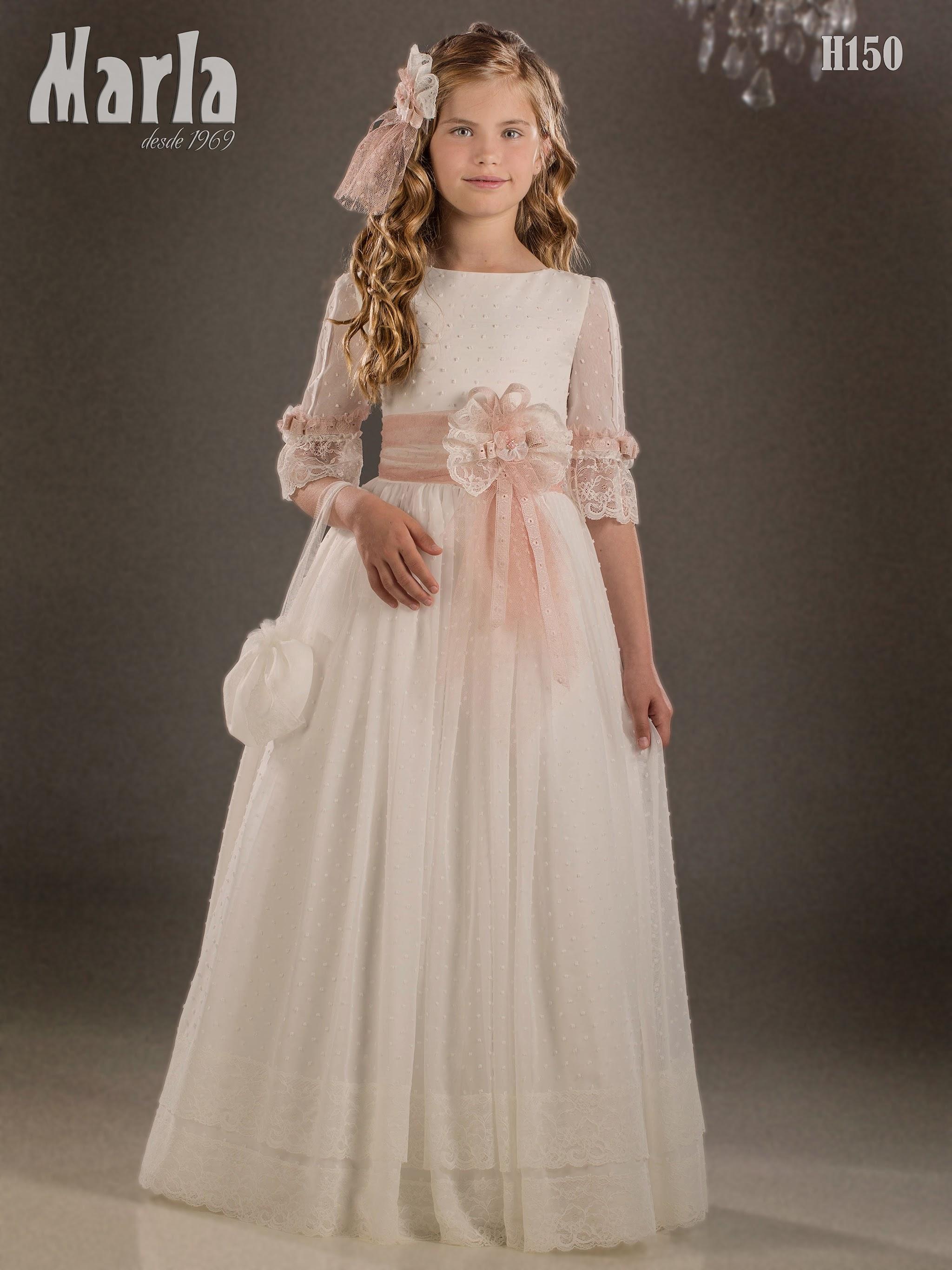 Precio vestidos de comunion marla