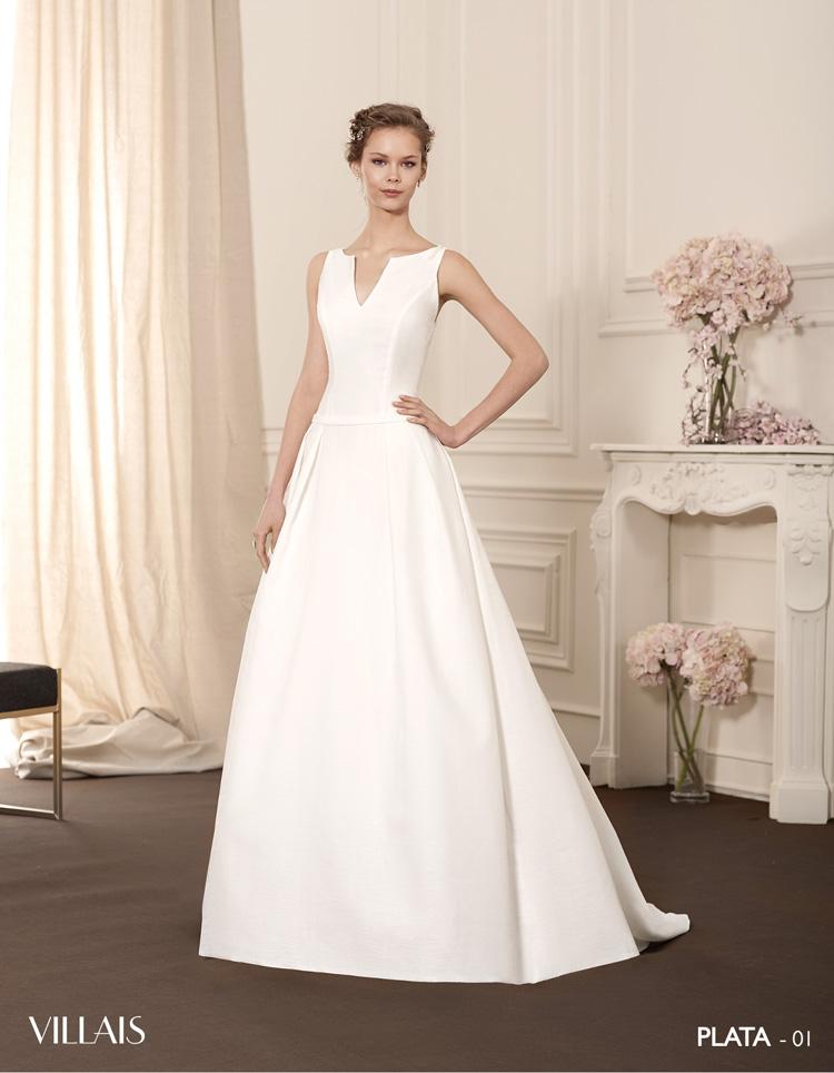 vestido novia villais - plata - penhalta