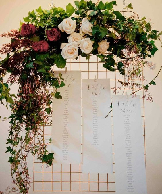 decoración floral para una boda. Últimas tendencias. - penhalta