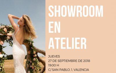 Showroom en ATELIER ¡Entérate de todas las novedades!