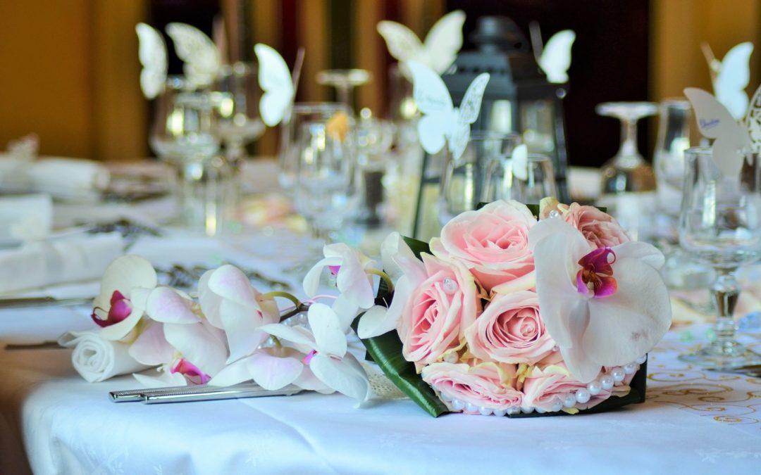 Decoración de mesas para bodas ¡Toma nota!